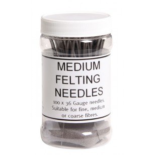 Medium Felting Needles, 10pk