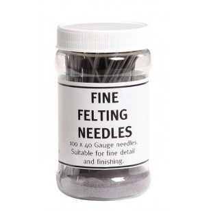 Fine Felting Needles, 10pk