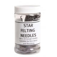 Star Felting Needles, 10pk