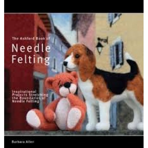 Ashford, Book, Needle Felting, pattern templates, felting technique ...