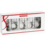 Bernina 5 feet Set for Bernina820, 830 (incl. Bernina FEET #8D, #10D, #20D, #34D AND #57D)