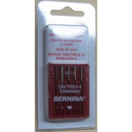 Bernina Embroidery Size 90 Needles 5/pk carded