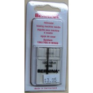 Bernina Wing Size 100 Needles 1/pk carded