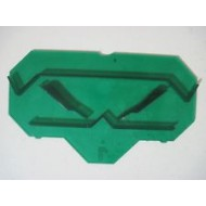 Green Keyplates (4/bag)
