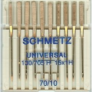 SCHMETZ Universal 70/10  10 Needles/Package