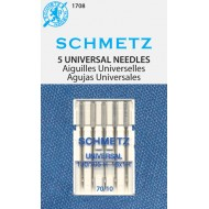 SCHMETZ Universal 70/10 5 Needles/Package