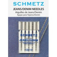 SCHMETZ Jeans/Denim 100/16 5 Needles/Package