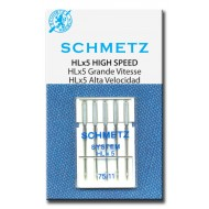 SCHMETZ HLx5 HIGH SPEED SPECIAL 75/11 5 Needles/Package