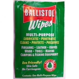 Ballistol Wipes - box of 10 pieces