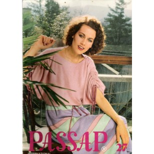 Passap Knitting Patterns Book - Passap International - No. 27