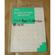 Singer Parts - Blank Paper 1/4 scale KR-10
