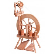 Ashford Traveller Double Treadle Double Drive Spinning Wheel