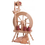 Ashford Traveller Double Treadle Single Drive Spinning Wheel