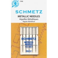 SCHMETZ Metallic 80/12 5 Needles/Package