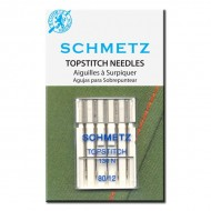 SCHMETZ Topstitch 80/12 5 Needles/Package