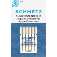 SCHMETZ Universal 80/12 5 Needles/Package