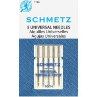 SCHMETZ Universal 90/14 5 Needles/Package