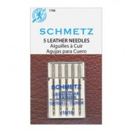 SCHMETZ LEATHER 110/18 5 Needles/Package