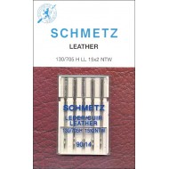 SCHMETZ LEATHER 90/14 5 Needles/Package
