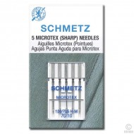 SCHMETZ Microtex 70/10 5 Needles/Package