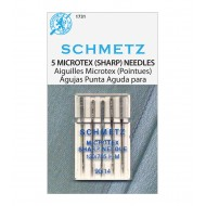 SCHMETZ Microtex 90/14 5 Needles/Package