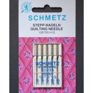 SCHMETZ Quilting  ASSORTED 75/11x3 needles, 90/14x2 needles