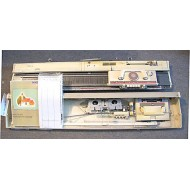 Used 4.5mm Brother Punch Card KM