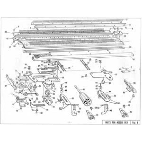 Kr 850  Diagrams And Numbers  Parts List  Brother  Free