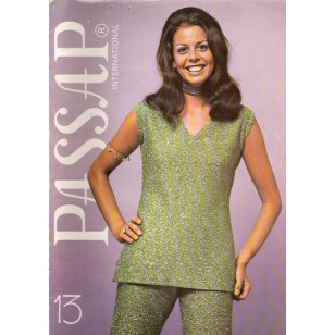 Passap Knitting Patterns Book - Passap International - No. 13