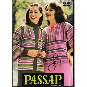Passap Knitting Patterns Book - Passap International - No. 22