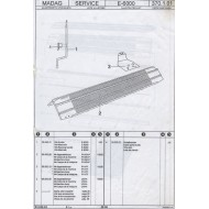 E-6000 Diagrams and Numbers