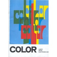 4 Color instruction book