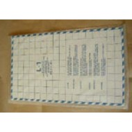Singer Parts - Lace pattern cards L1- L5 (NLA), rep. by 01013275/07635246