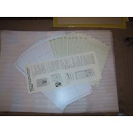 Singer Parts - Blank Cards SK155 9.0mm