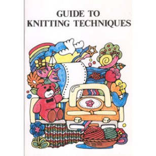 Singer Parts - Guide to Knitting Technics 4.5mm punchcard